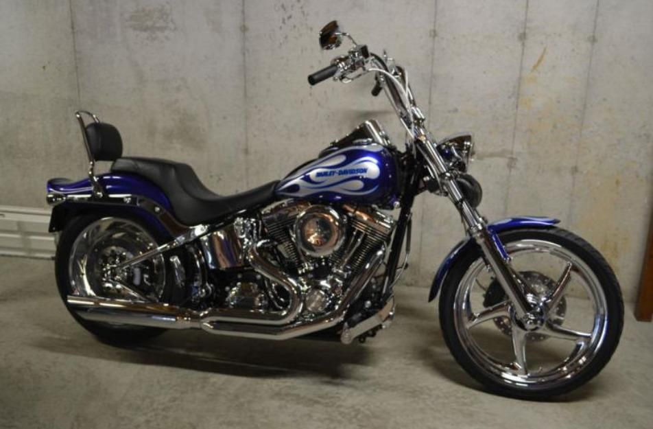 2008 harley davidson hd softail custom fxstc special edition paint 103 stage 2