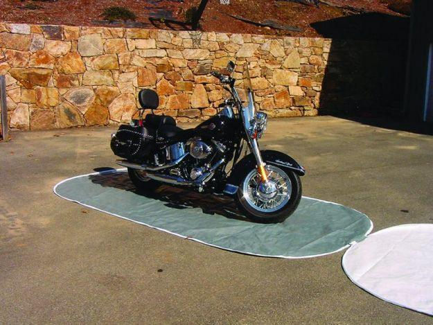 The Perfect Storage Cover for your Motorcycle. The Cycle Pocket!