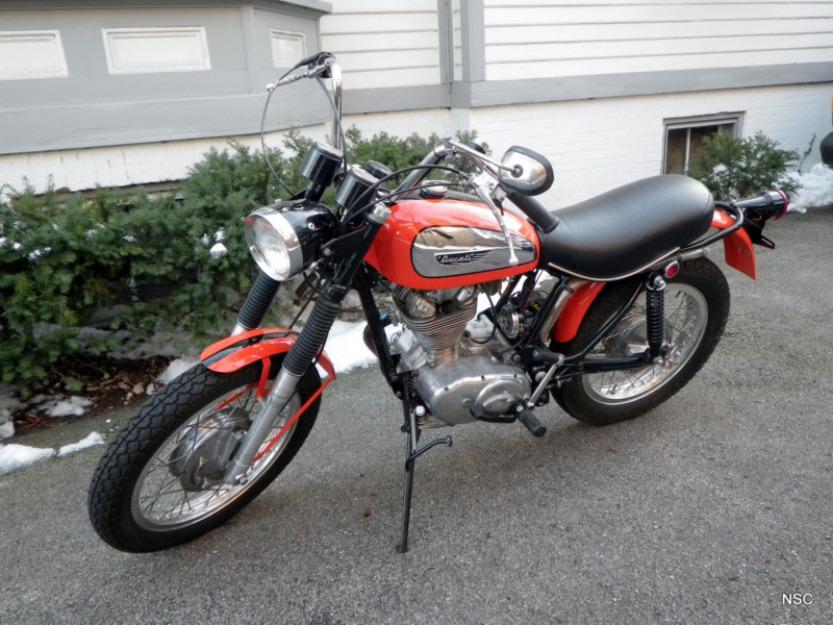 1970 Ducati 350 Street Scrambler