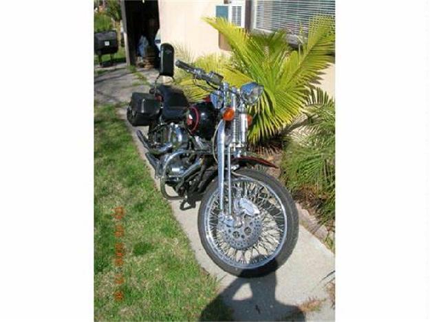 1989 Harley Davidson Motorcycle
