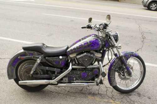 2003 Harley Davidson XLH Sportster 883 Hugger Cruiser in Lakewood, OH