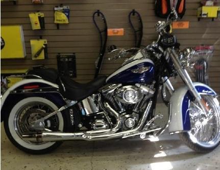 2007 Harley Davidson FLSTN Softail Deluxe  in Laramie, WY