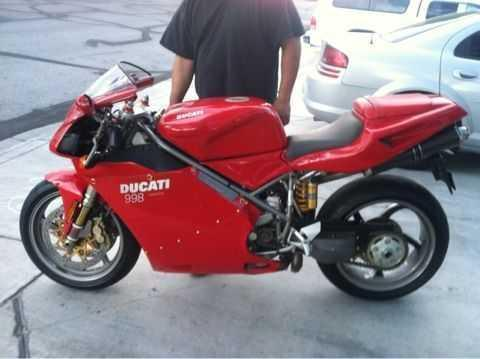 2002 Ducati 998 Sportbike in Las Vegas, NV