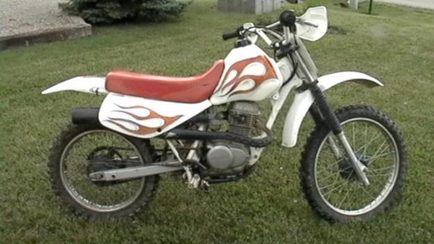 1997 Honda XR 100 Dirtbike