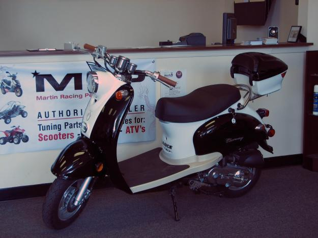 New 2008 Charming 50cc Moped