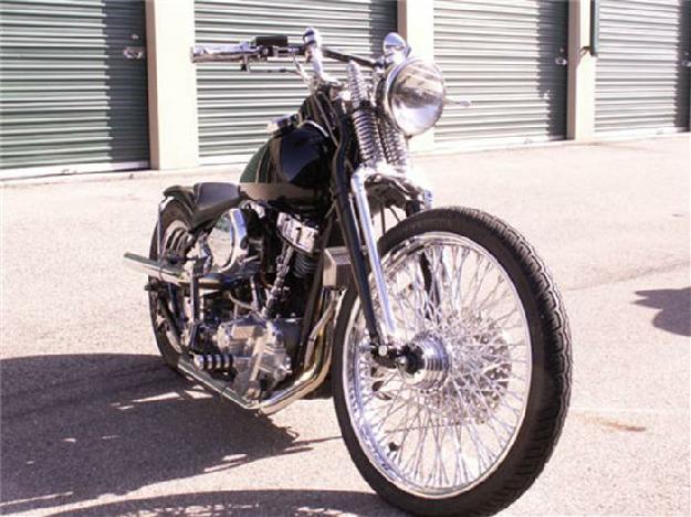 1959 Harley Davidson Motorcycle