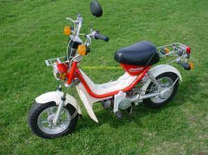 VINTAGE 1980 YAMAHA LC50 CHAMP SCOOTER MOPED SEE PICTURES