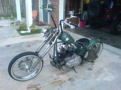1976 Harley Davidson Iron Head