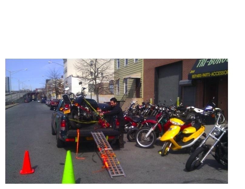 NYC Bike Tow Motorcycles Transport 212 845 9567 Towing 24/7 Queens,Brooklyn,Manhattan