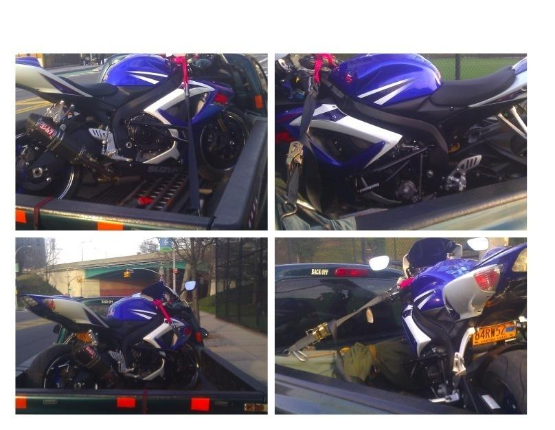 Queens NY,Motorcycle towing services flat fix battery shop repairs  347 495 5141