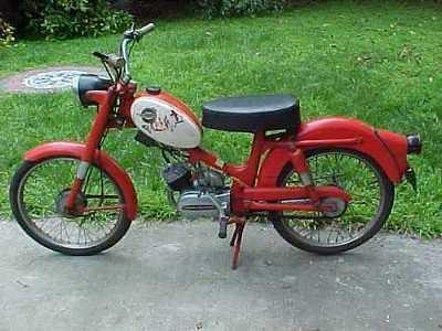 ☆ 1965 Harley Davidson Moped Motorcycle - Nice Classic!