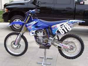 Yamaha YZ450 2004