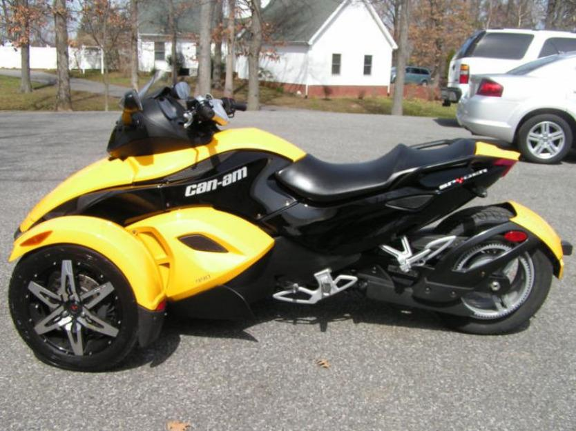 2008 can-am spyder rs sm5 trike