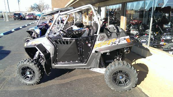 2012 Polaris Ranger RZR XP 900 Liquid Silver LE