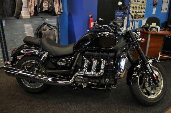 2013 Triumph Rocket III Roadster ABS - Phantom Black