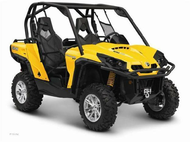 2013 Can-Am Commander XT 1000