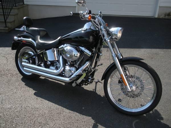 2002 Harley Davidson FXSTDI Softail Deuce in North East, MD