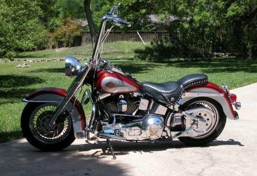 1999 Harley Davidson FLSTC Heritage Softail Classic in Round Rock, TX