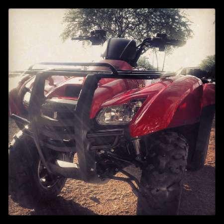 2013 Honda FourTrax Rancher 4x4 (TRX420FM)
