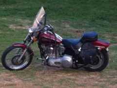 1999 American IronHorse Softail Custom Trike in Milburn, OK