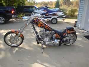 2003 American IronHorse Texas Chopper by Arlen Ness in Romulus, MI