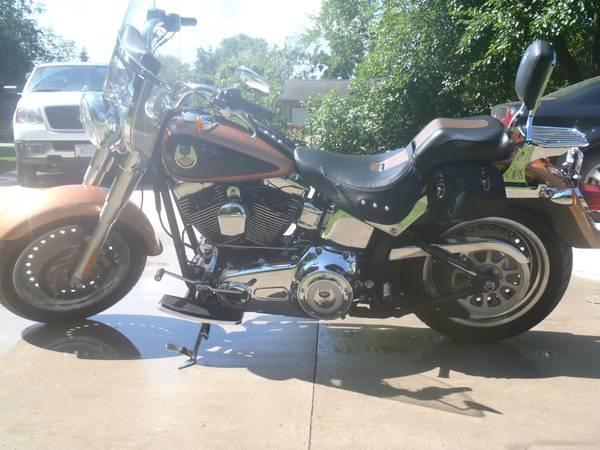 2008 Harley Davidson FLSTF Softail Fat Boy in Holmen, WI