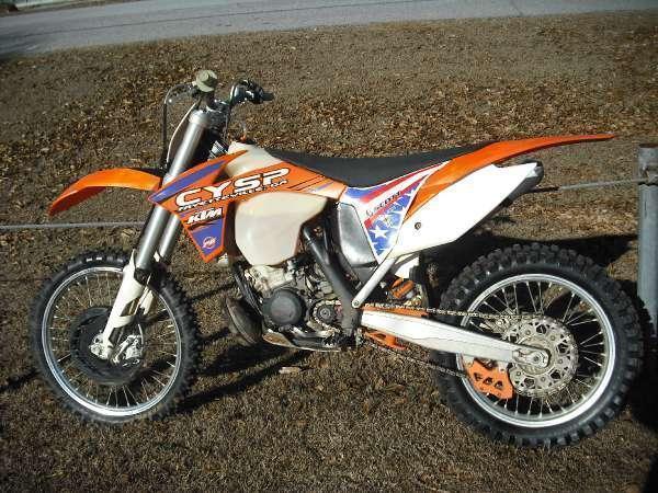 2012 KTM 200 XC-W