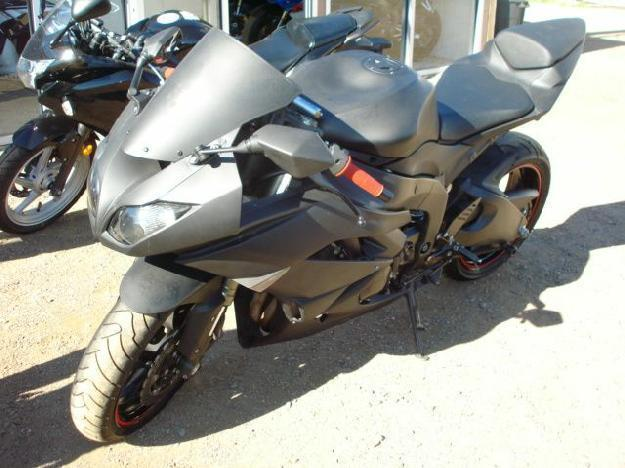 2009 Kawasaki ZX-6R MURDERED OUT BAD BOY, FINANCE AVAILABLE - DV Auto Center, Phoenix Arizona