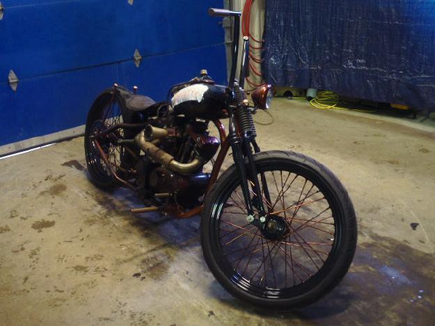 Salvage HARLEY-DAVIDSON MOTORCYCLE   1973  -Ref#12569894