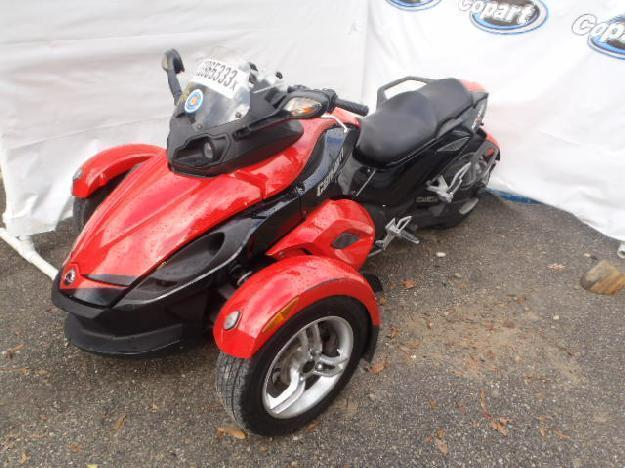 Salvage CAN-AM SPYDER RS 1.0L  2 2009  -Ref#33965333