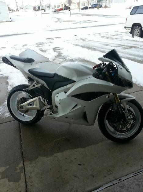 2012 Honda CBR 600RRC in Great Falls, MT