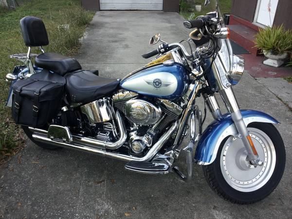 2005 Harley Davidson FLSTFI Fatboy  in Jacksonville, FL