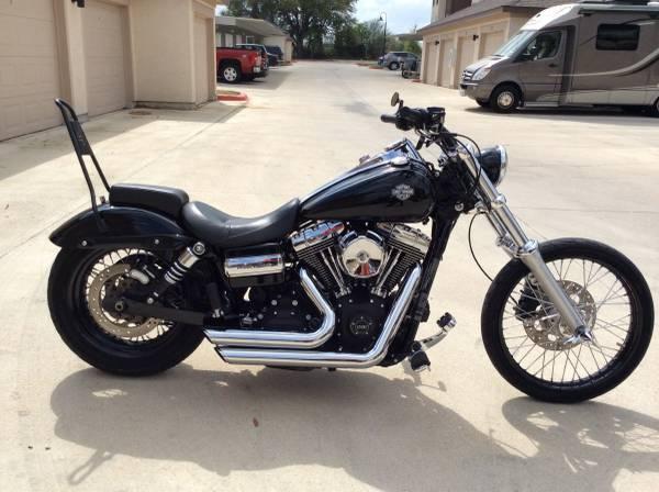 2013 Harley Davidson FXDWG Dyna Wide Glide in , TX