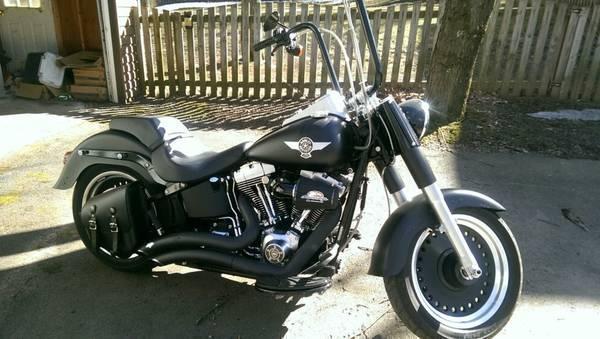 2010 Harley Davidson FLSTFB Fat Boy Lo in , PA