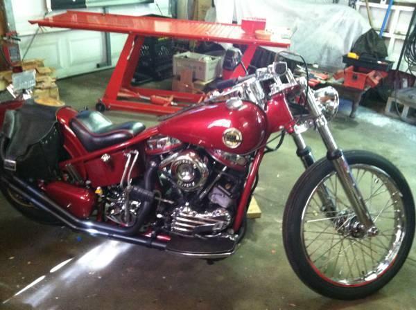 1958 Harley Davidson Panhead Chopper in Pinellas County, FL