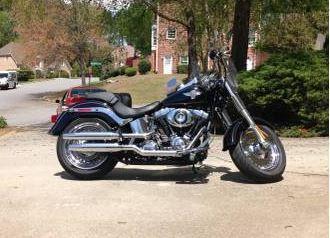 2014 Harley Davidson FLSTF Fat Boy in Johns Creek, GA