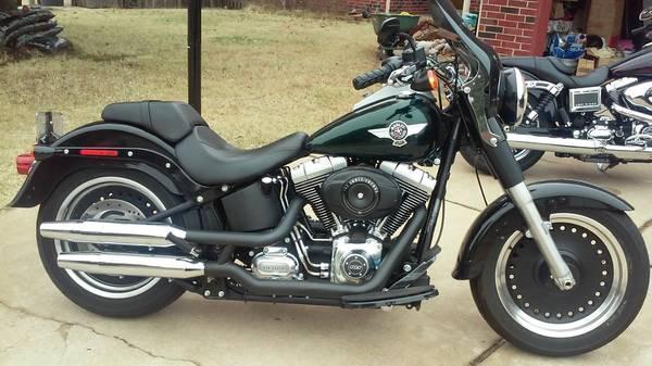 2012 Harley Davidson FLSTFB Fat Boy Lo in , OK