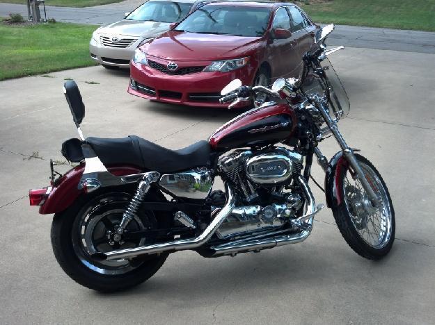 2006 Harley Davidson XL 1200C Sportster Custom in , MI