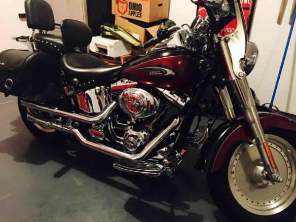 2003 Harley Davidson FLSTFI Fat Boy in Fredricktown, OH