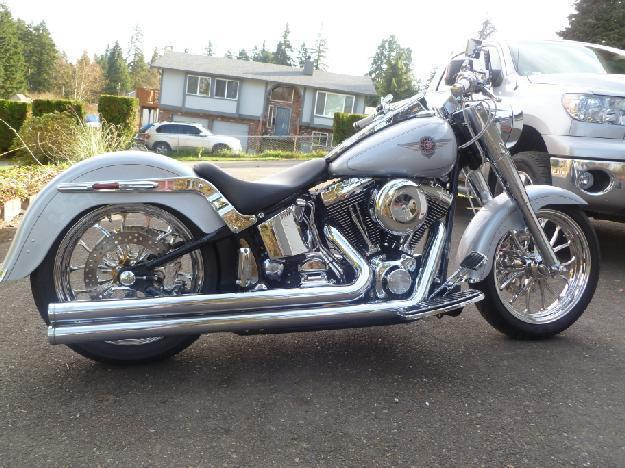 2002 Harley Davidson FLSTF Fat Boy Custom in , WA