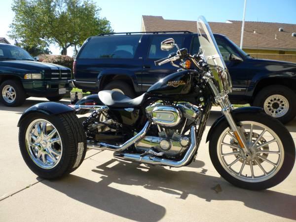 2009 Harley Davidson XL 883 Sportster Trike in , CA