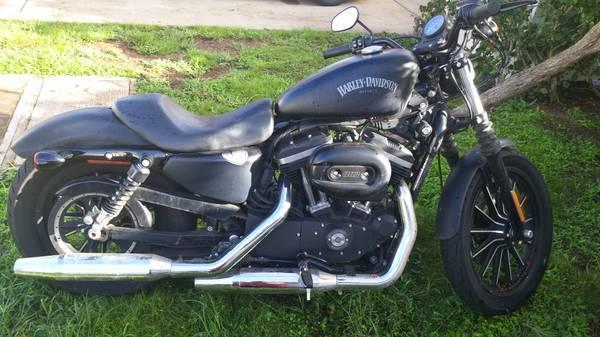 2014 Harley Davidson Sportster Iron 883 Dark Custom in , HI