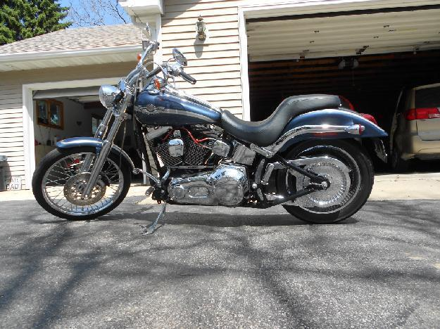 2003 Harley Davidson FXSTD Softail Deuce in Twin Lakes, WV