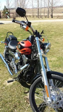 2014 Harley Davidson FXDWG 103 Dyna Wide Glide in , MN