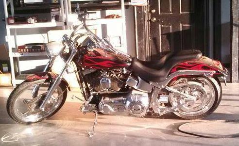 2003 Harley Davidson FXSTD Softail Deuce in , TX