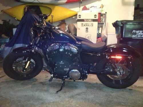2012 Harley Davidson XL1200C Sportster 1200 Custom in , IL