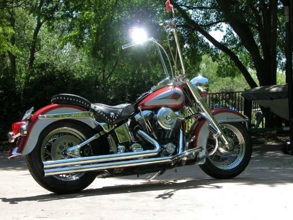 1999 Harley Davidson FLSTC Heritage Softail Classic in , TX