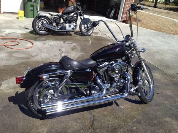 2004 Harley Davidson XL 1200 C Sportster Custom in , NC
