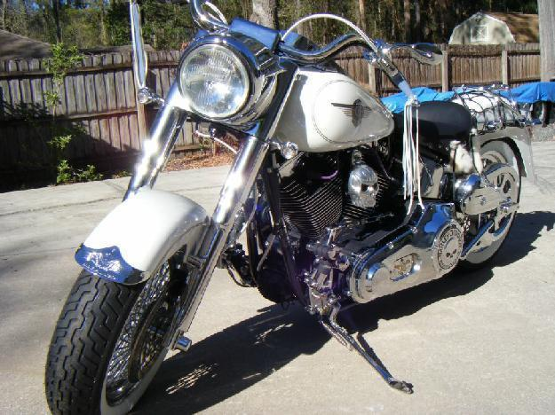2004 Harley Davidson FLSTF Fat Boy Custom in , FL
