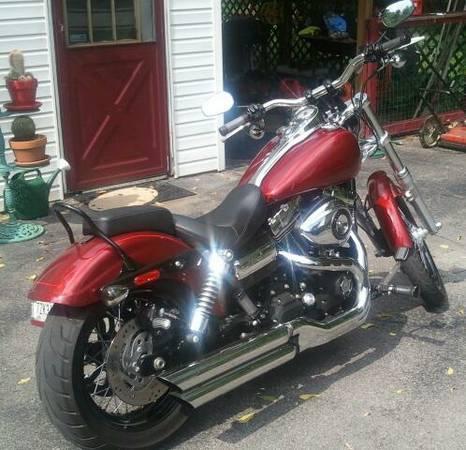 2010 Harley Davidson FXDWG Dyna Wide Glide in  City, TN